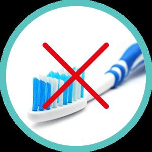 chlechte Mundhygiene