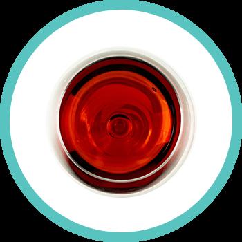 Zahnverfärbung durch Wein