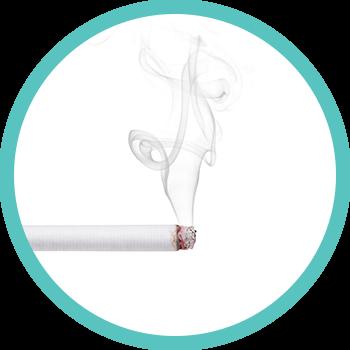 Zahnverfärbung durch Nikotin